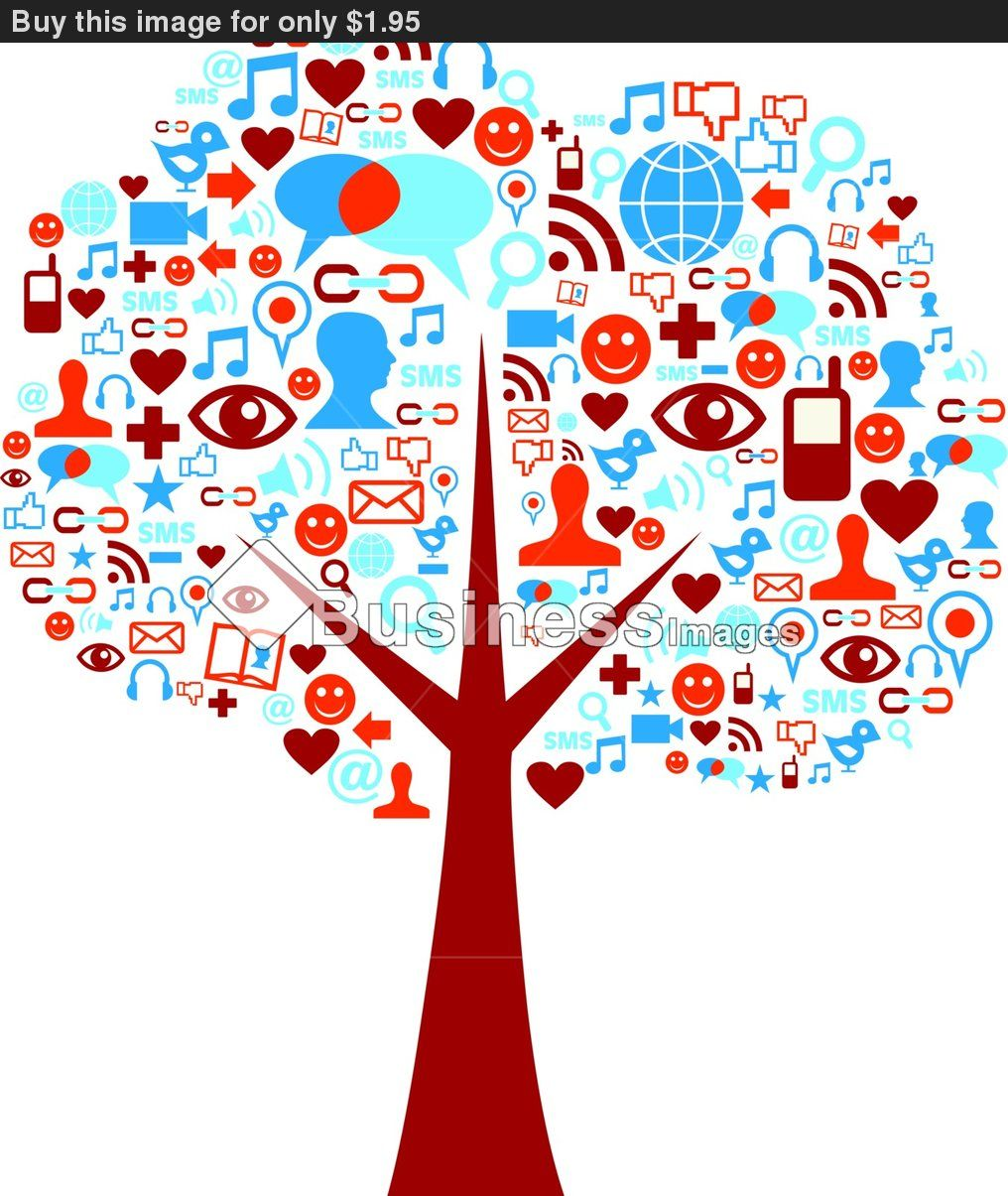 The new tree of life (With images) Social media icons