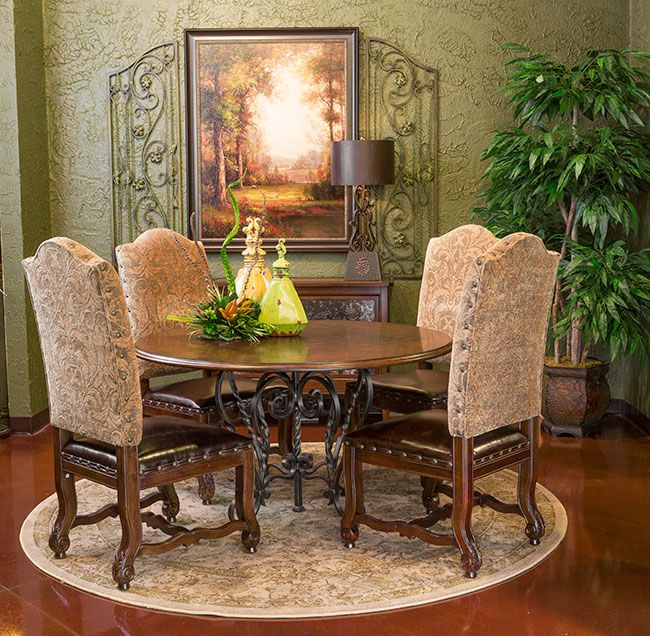a world of fine furnishings  round dining room sets