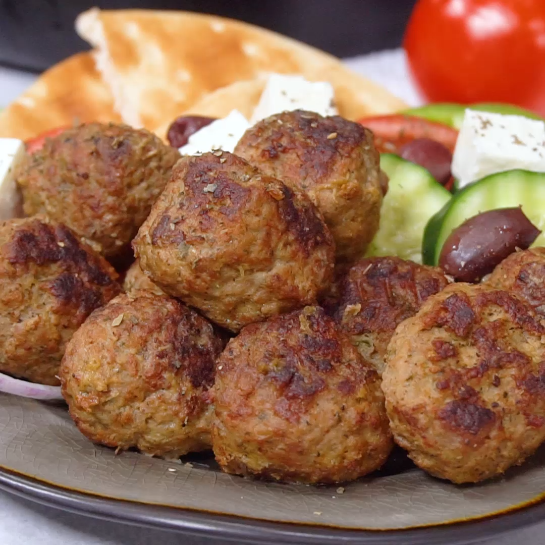 Keftedes: Greek Meatballs with a Lemony Sauce | Th