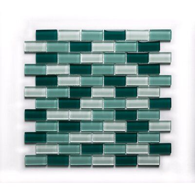 Ws Tiles Swimming Pool Series 1 X 2 Glass Mosaic Tile Color Coral Green Mosaic Glass Mosaic Tiles Glass Mosaic Tiles
