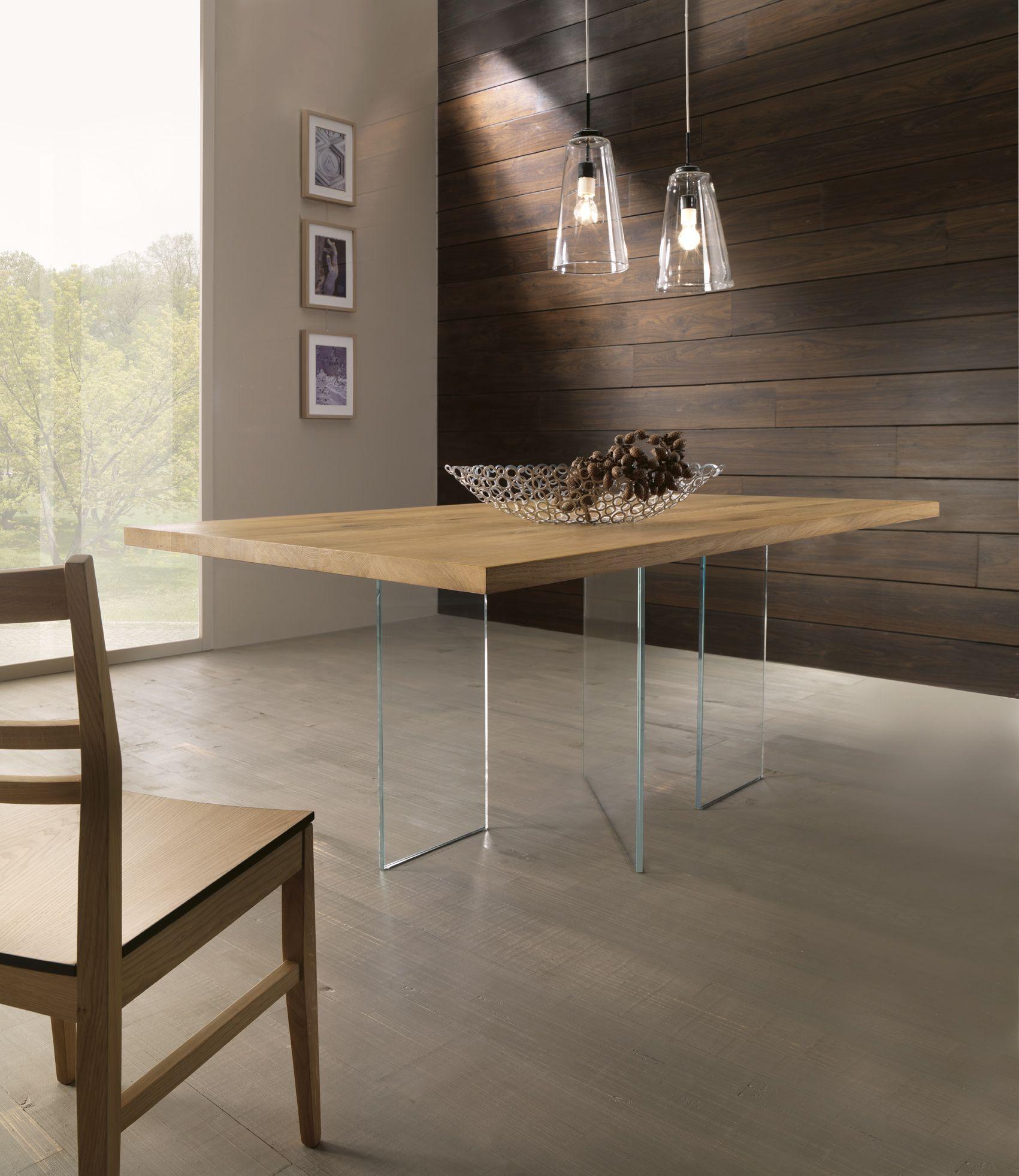 Idea di CONARTE AMERICA. su OAK TABLES Tavolo legno