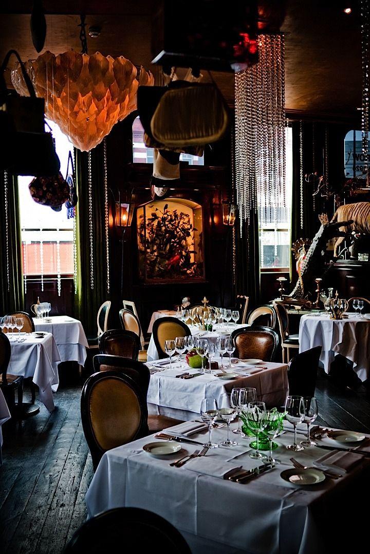 Les Trois Garcons Far From The Maddening Crowd Bar Design Restaurant Restaurant Design London Restaurants