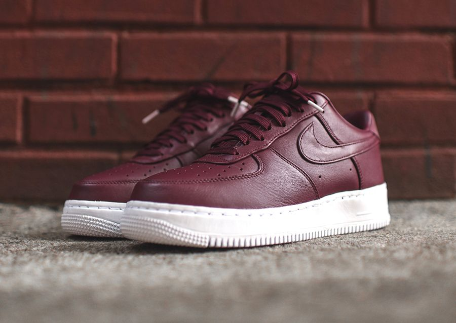 e12be28953d9 Chaussure Nike Air Force 1 Low Premium Night Maroon (4 ...