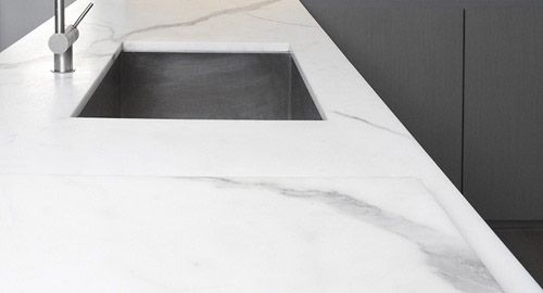 Marble bench top