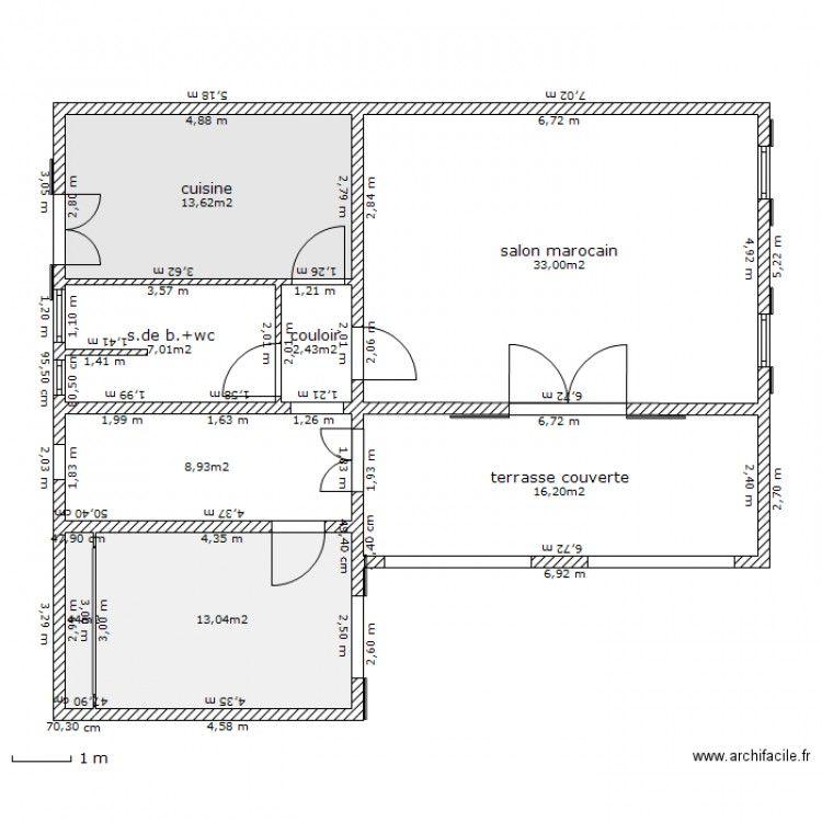 Plan Maison Marocaine Plan Maison 150m2 Plan Maison Plan