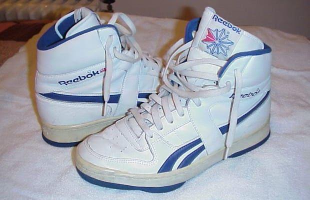 zapatos reebok de los 80
