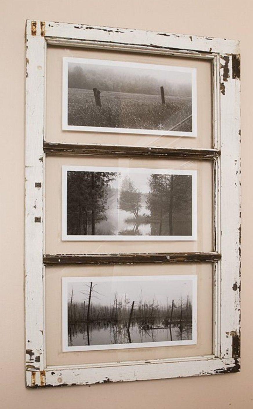 Barn window decor  decoraciÓn puertas y ventanas recicladas  window frames window