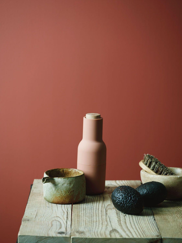 Pin von N B auf Rost+rosa  Wandfarbe rot, Innenfarbe, Wandfarben