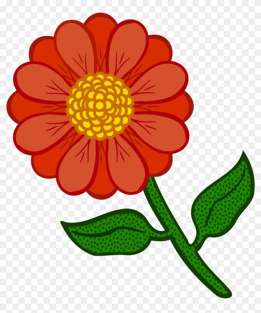 Find Hd Coloured Flowers Png Outline Of Colourful Flower Transparent Png To Search And Download More Free Transpare Colorful Flowers Orange Flowers Flowers