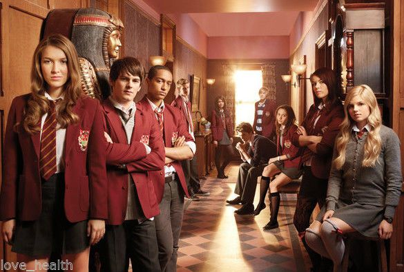 HOUSE OF ANUBIS - don't even care it's a terribly acted kids show,  I love it