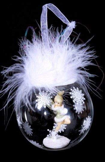 Pin by Youyou on Tinkerbell / Fée Clochette | Christmas bulbs