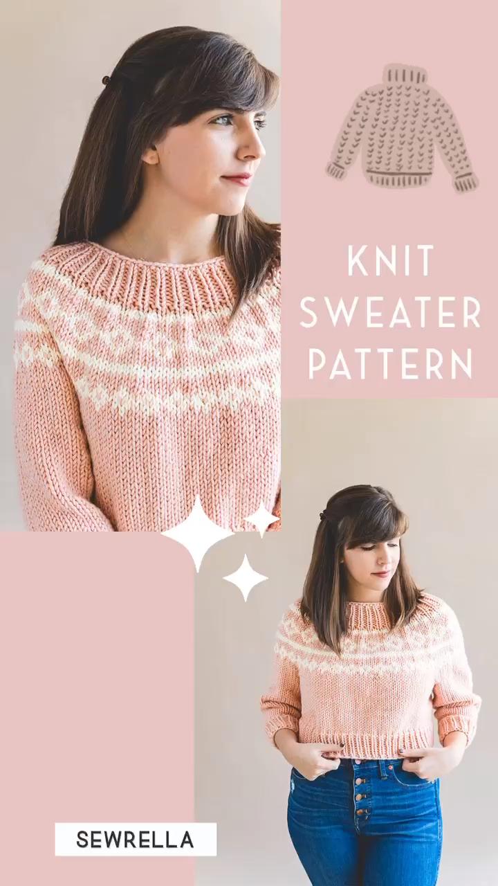 Photo of Free Knit Sweater Pattern