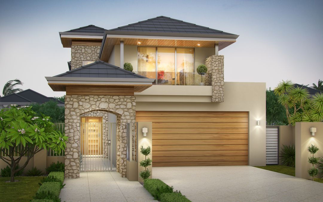 10m Wide Home Designs Can Be Amazing Wishlist Homes Narrow Lot House Plans House Architecture Design Luxury House Designs Our hamptons inspired living roomcoming