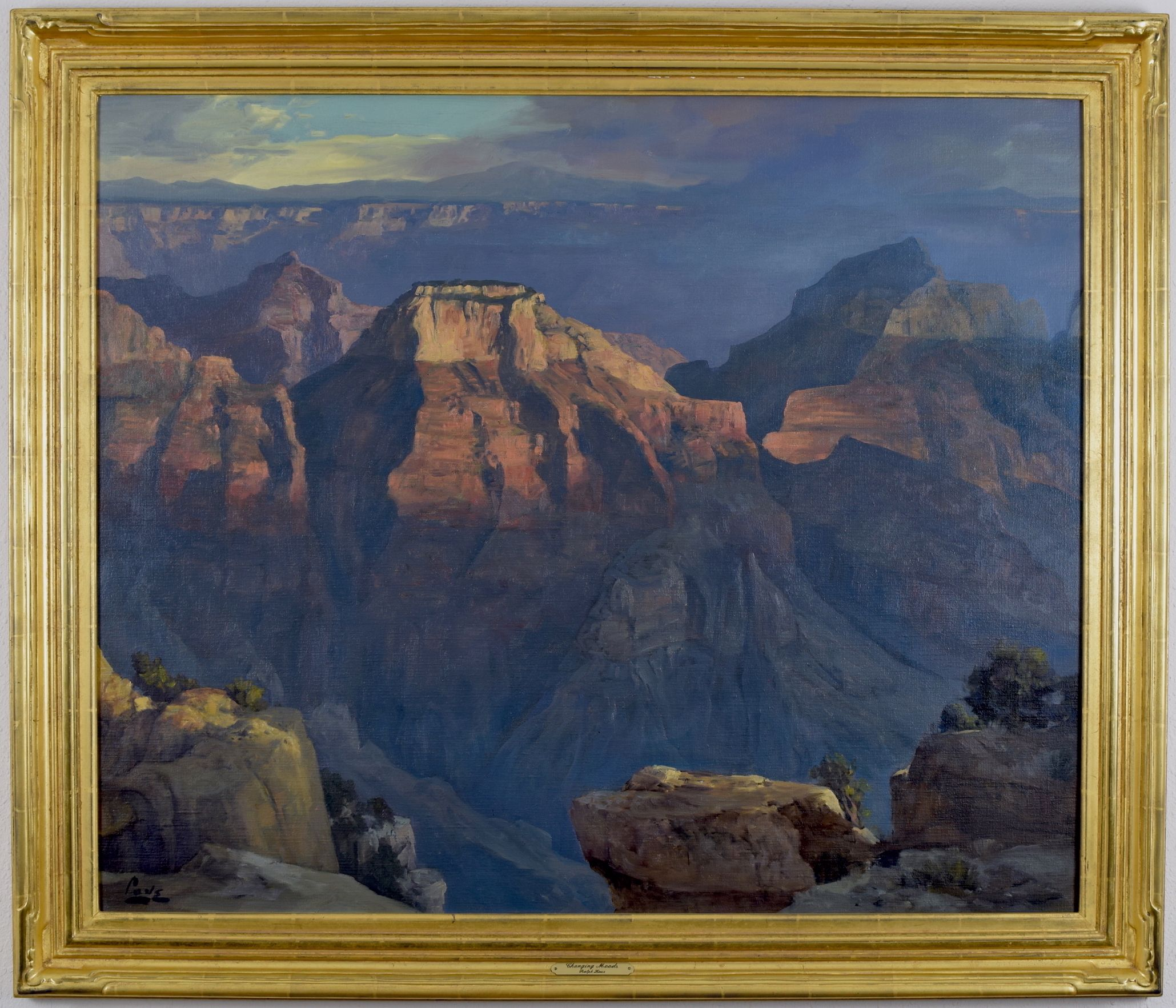 Ralph Love is arguably best-known for his paintings of the Grand ...