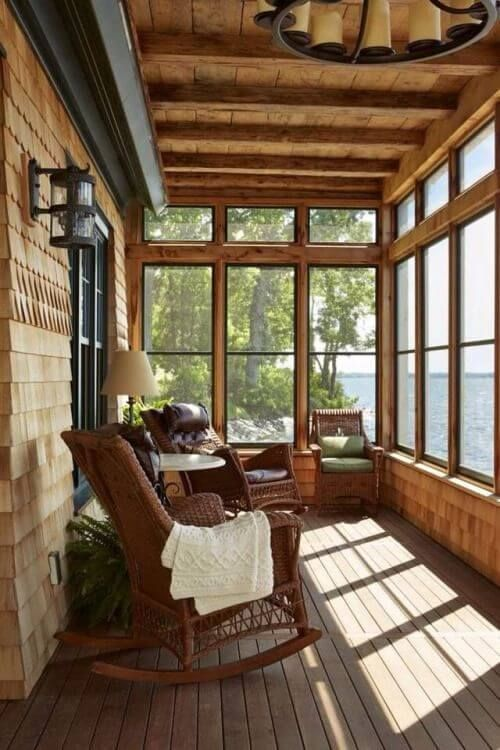 8 Cool Screened In Porches For Spring and Summer