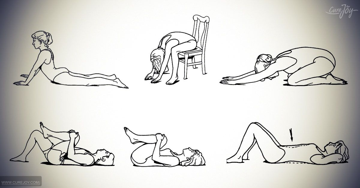 6 Exercises For Lower Back Pain Relief