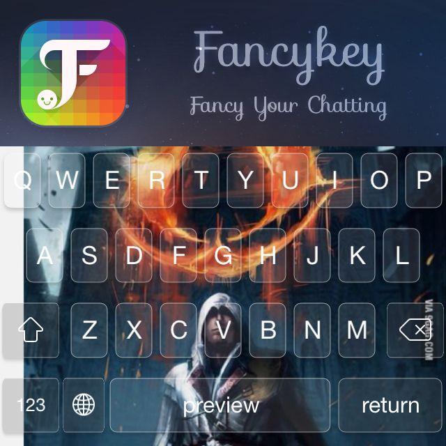 My new keyboard, made with @FancyKey ✊ http://dl2.fancykeyapp.com #FancyKey