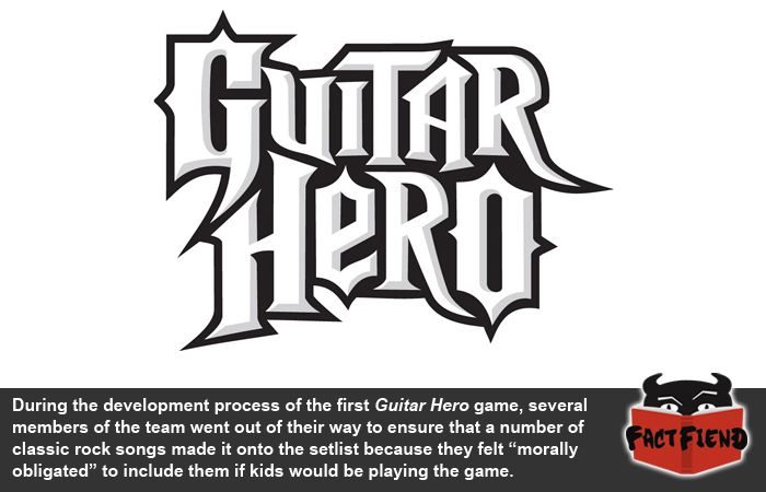 They Put Some Songs In Guitar Hero Just To Make You Listen To Them Fact Fiend Guitar Hero Songs Classic Rock Songs