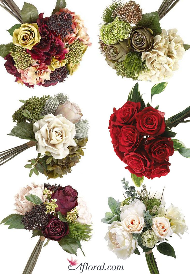 Shop Holiday Pre Made Bridal Bouquets With Afloral Bridal