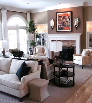 These Clients Entertain A Lot And Their Living Room Was So Long