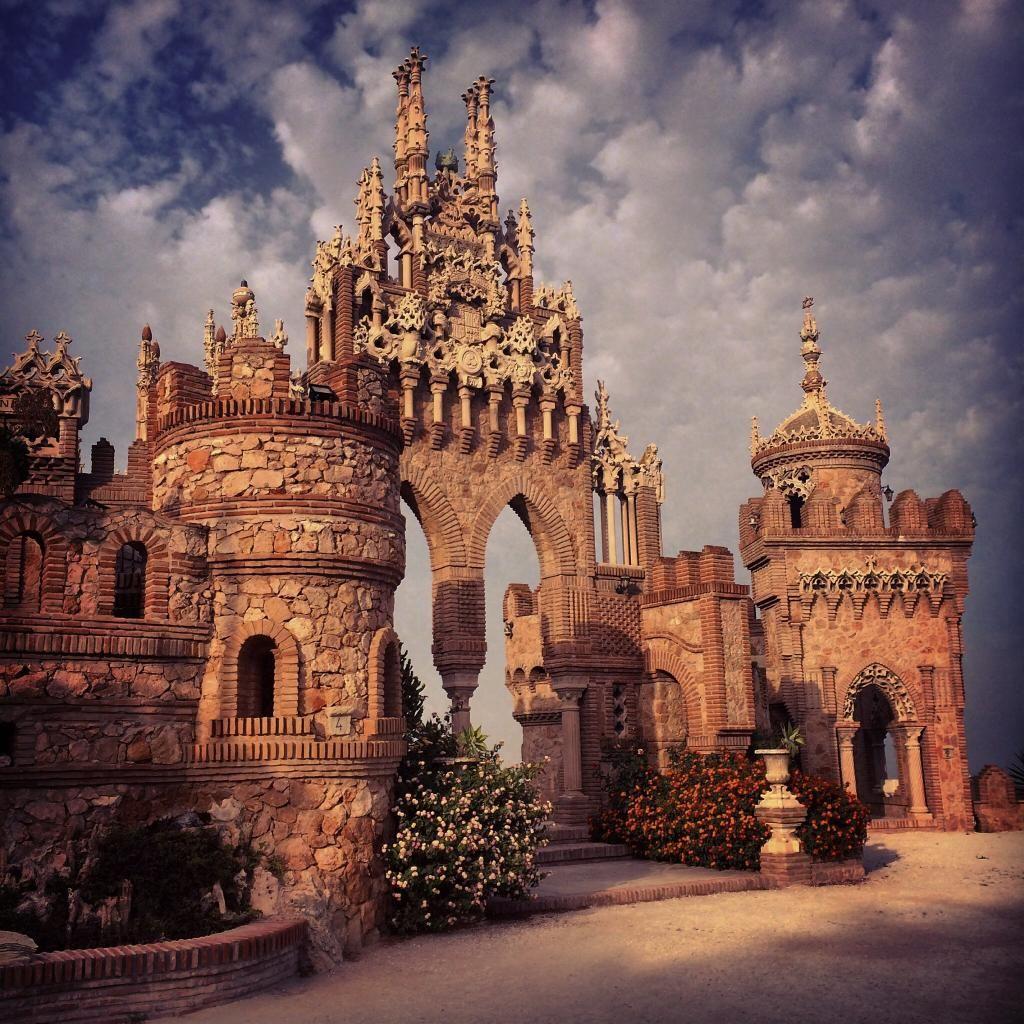 Самые красивые замки испании фото