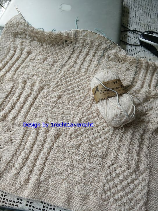 Babydeken Of Lappendeken Haken Crochet En Een Beetje Breien And