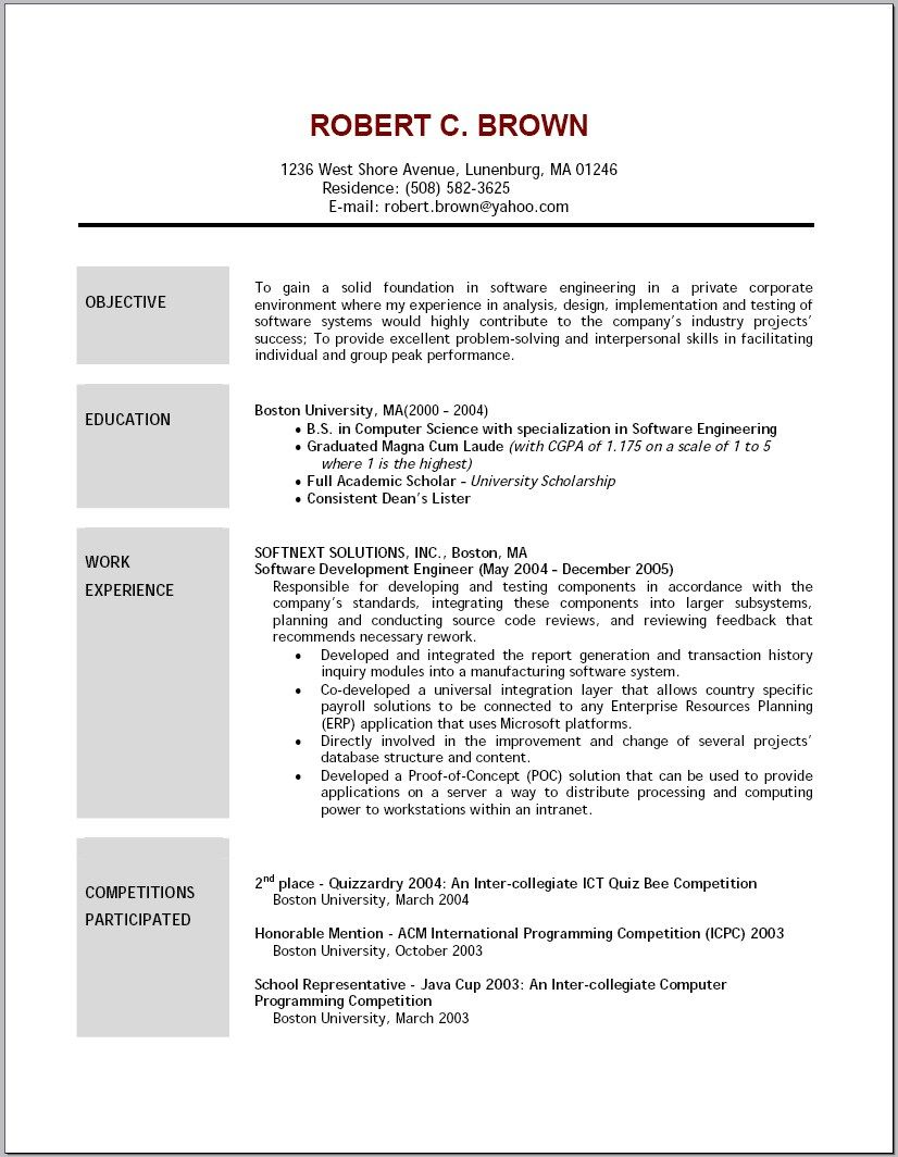 Law School Resume Objective New Resume Examples Objective  Resume Examples  Pinterest  Resume .