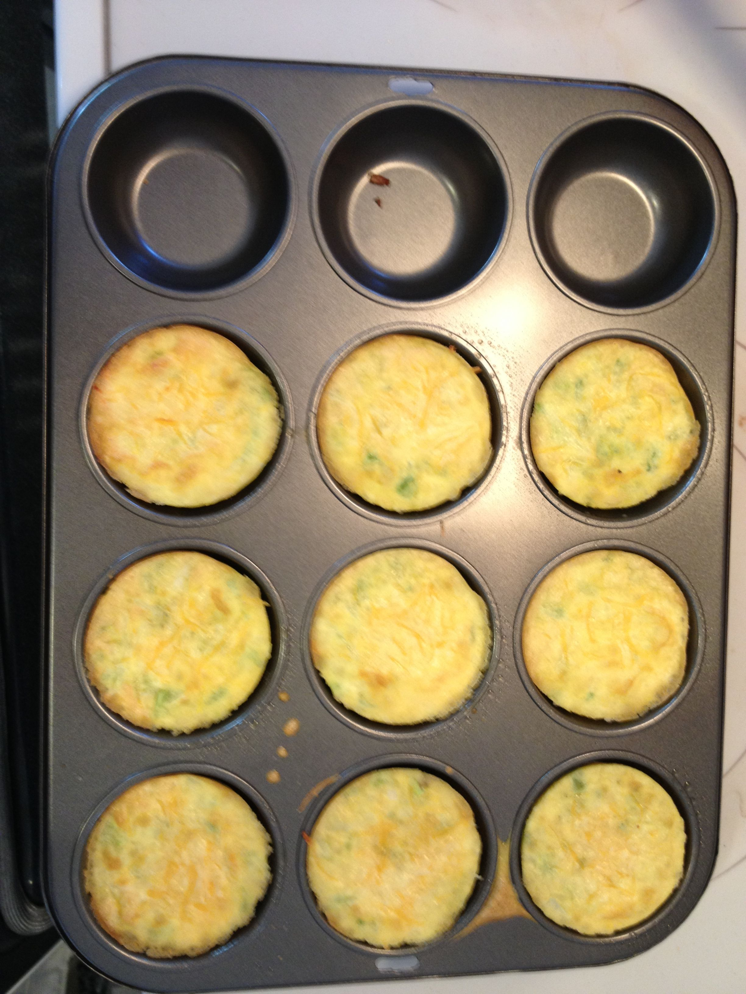 I Made This Simple Recipe By Spraying This Cupcake Pan With