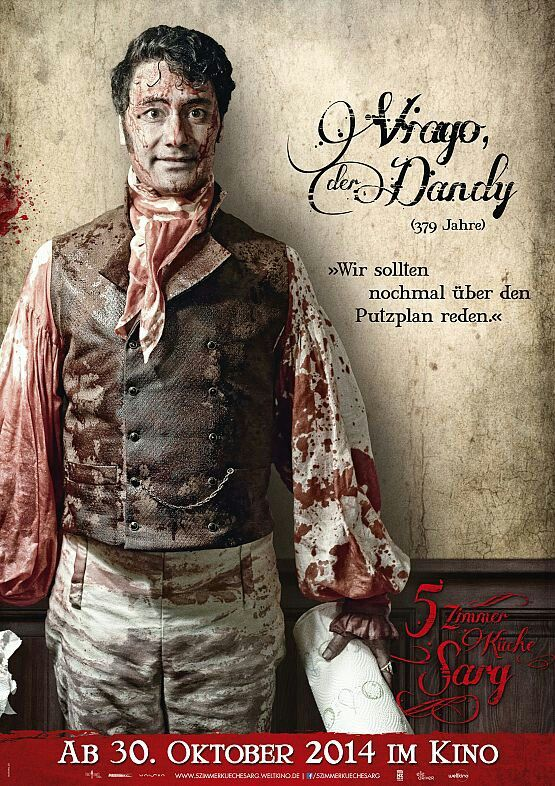 Taika Waititi As Viago The Dandy 5 Zimmer Kuche Sarg German