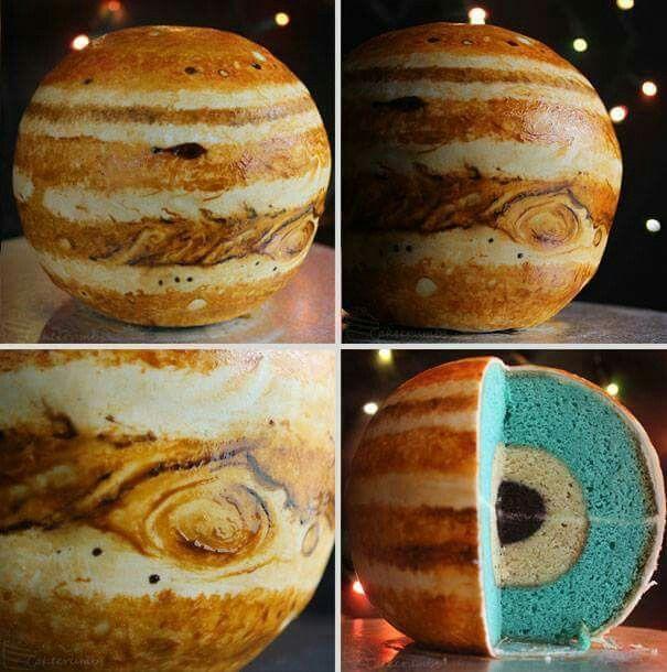 Jupiter cake! By Cake Crumbs