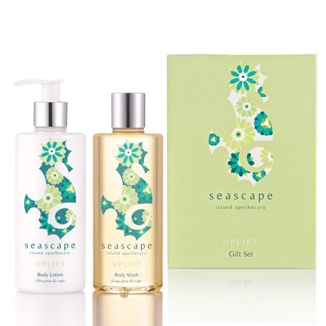Natural Skincare Products, Natural Body Wash and Body Lotion with Essential Oils | Seascape UK