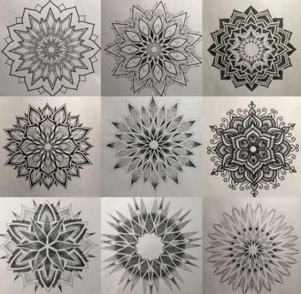 Trendy Design Tattoo Mandala Tatoo Ideas