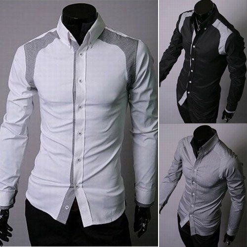 Aliexpress.com : Buy Men White Shirt Men Stylish Shirt Fashion ...