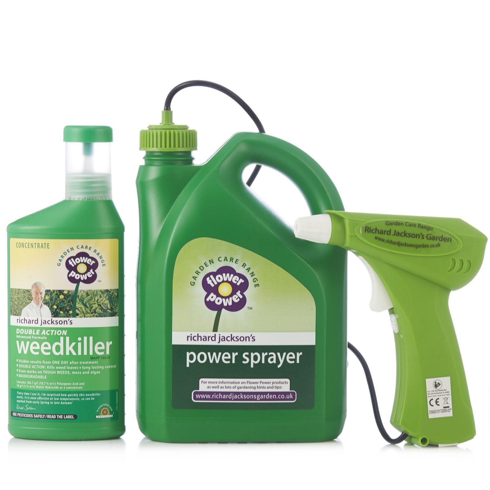 509041 Richard Jackson Power Sprayer Weedkiller Kit Qvc Price