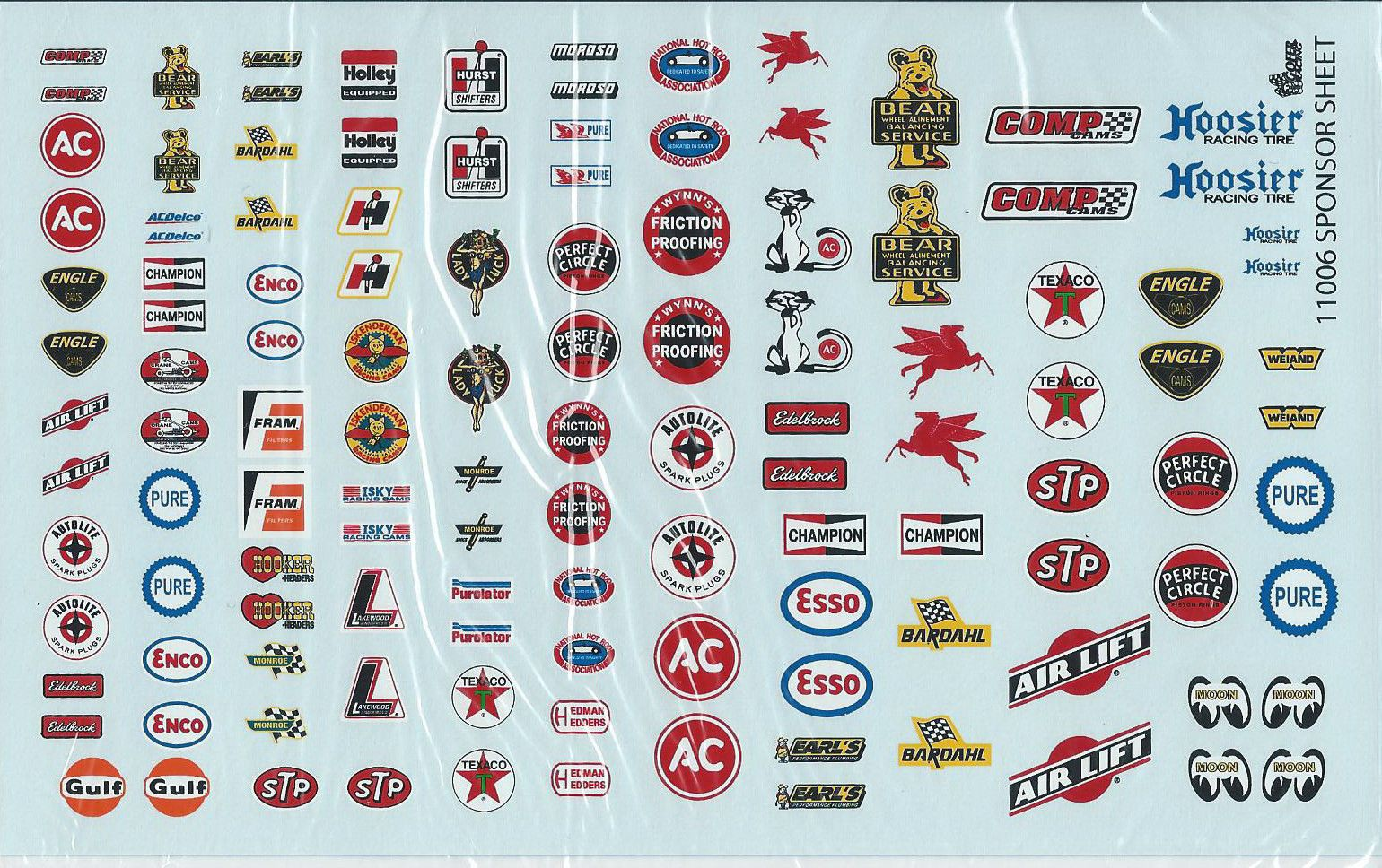 Gofer Racing 1 24 1 25 1 18 Scale Sponsor Decals Set 1 For Model Cars Decal Sheets Scale Models Cars Car Model