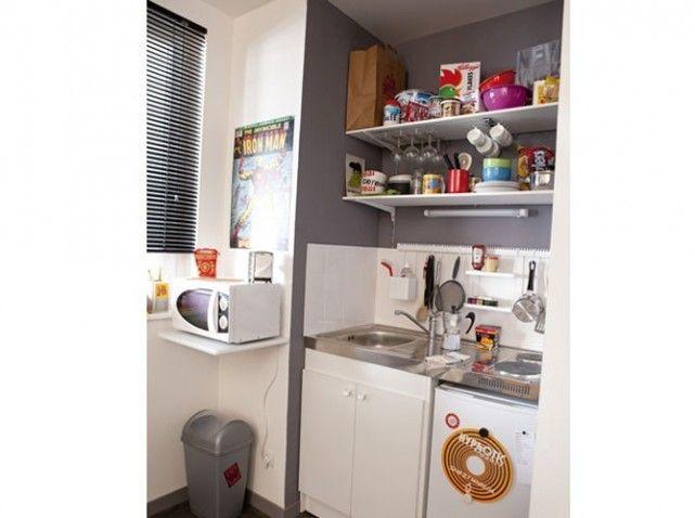 cheap petite cuisine studio leroy with mini cuisine pour studio. Black Bedroom Furniture Sets. Home Design Ideas