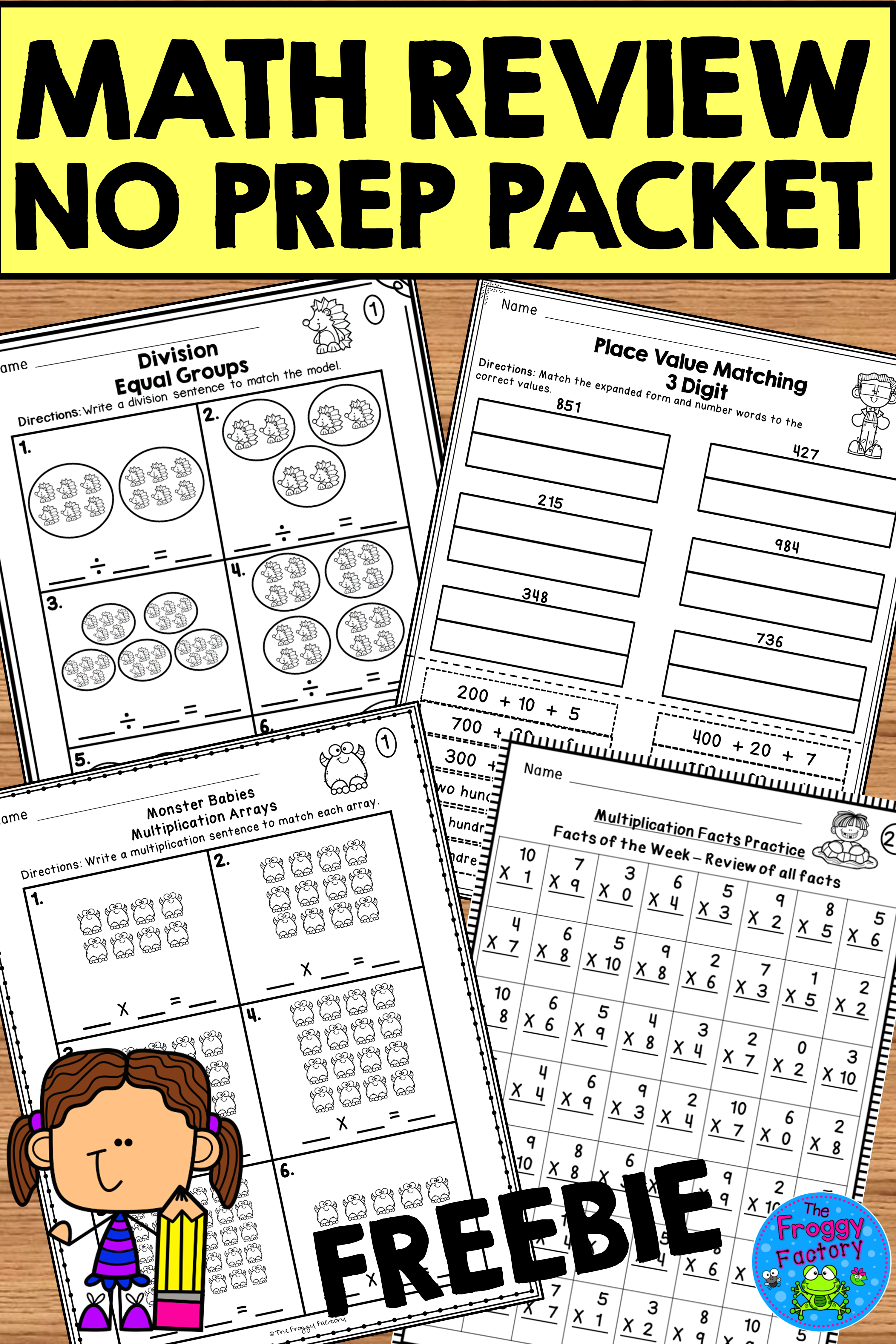 Do Your Students Need More Math Review This Math Review