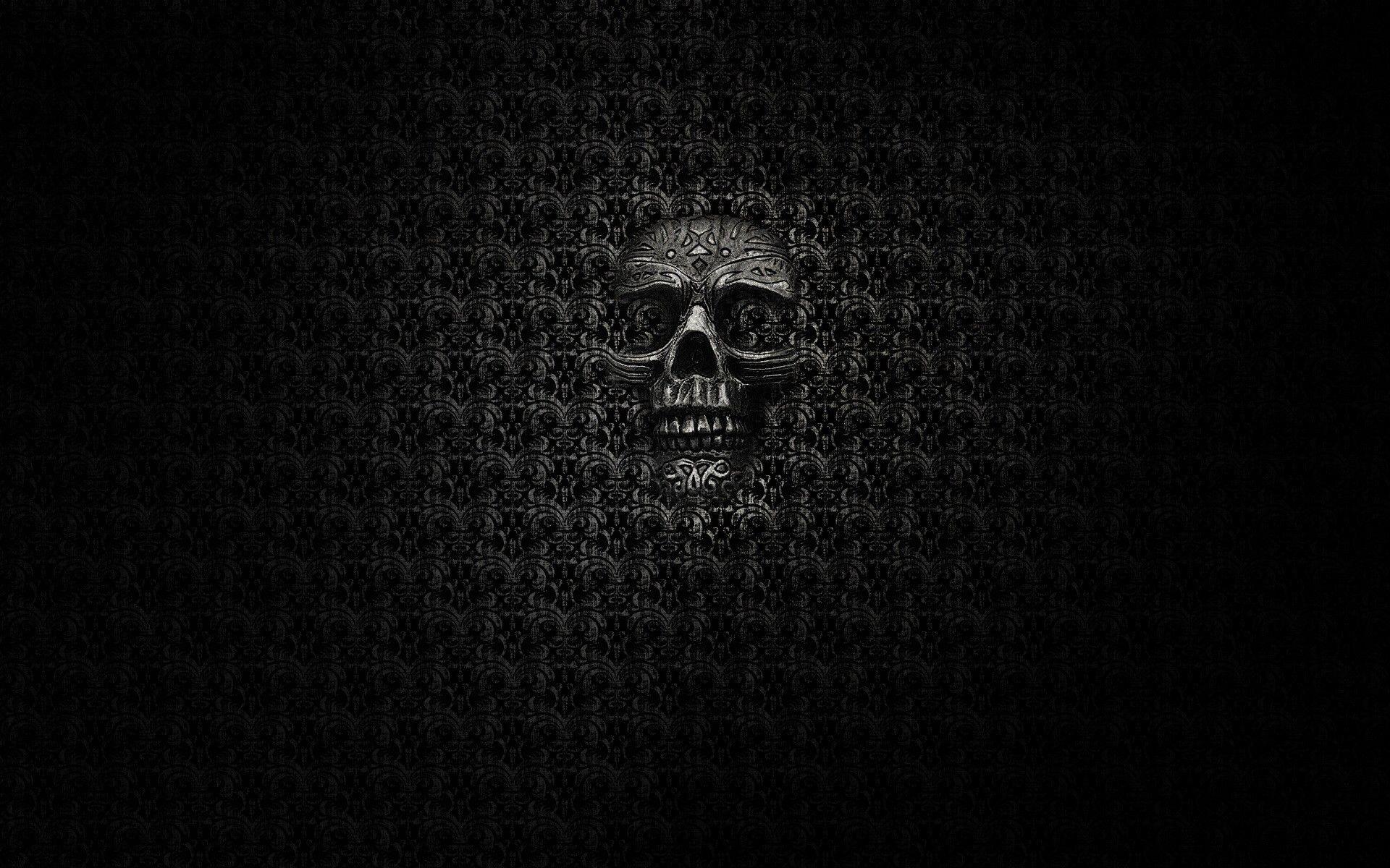 Black Skull Wallpaper Hd Iphone