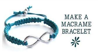 How to make a macrame sliding knot clasp