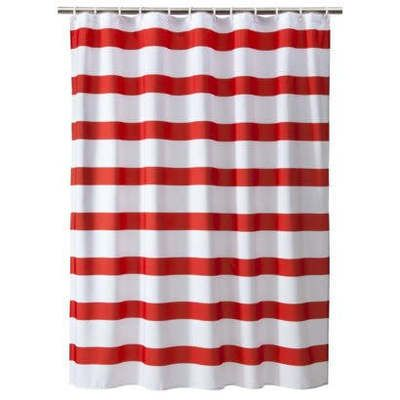 red white striped shower curtain. Target Room Essentials Red  White Rugby Stripe Shower Curtain RE