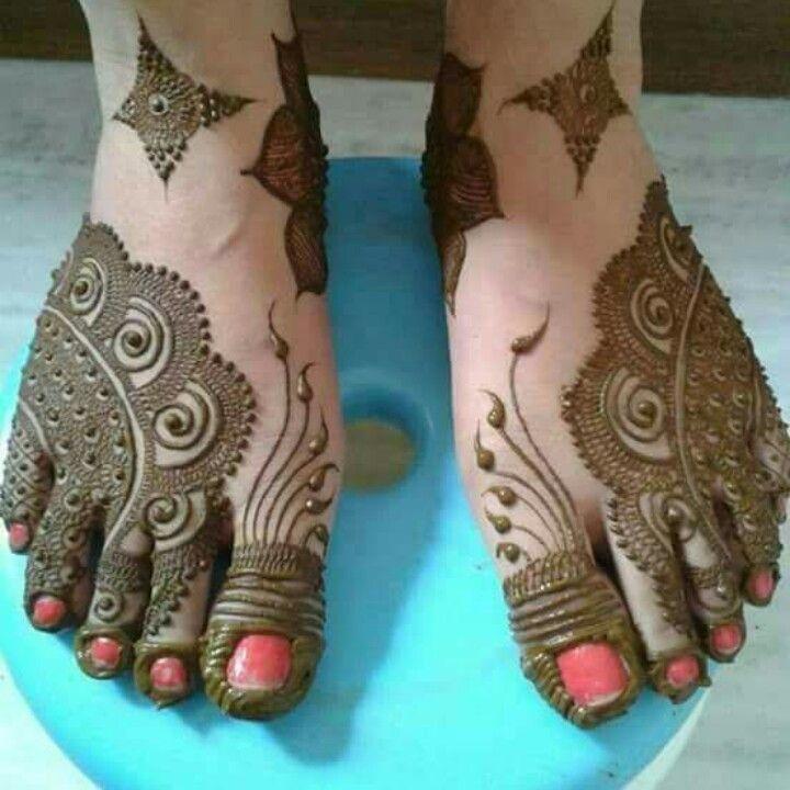 Mehndi Design For Right Leg : Pin by sarita rinwa on mehandi legs pinterest