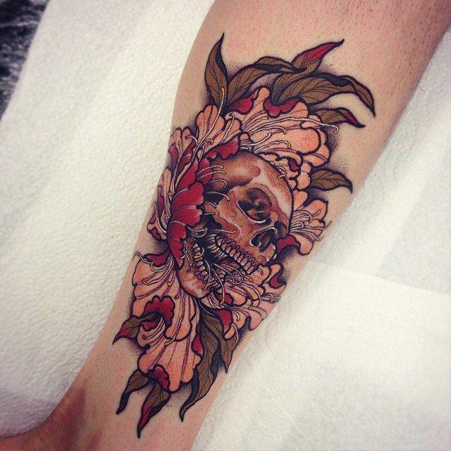 Skinink On Instagram Tom Bartley Brisbane Qld Tom Bartley Tattooedwarriortattoostudio Skinink Com Au Tattoo Skull Tattoo Flowers Tattoos Tattoo Skin