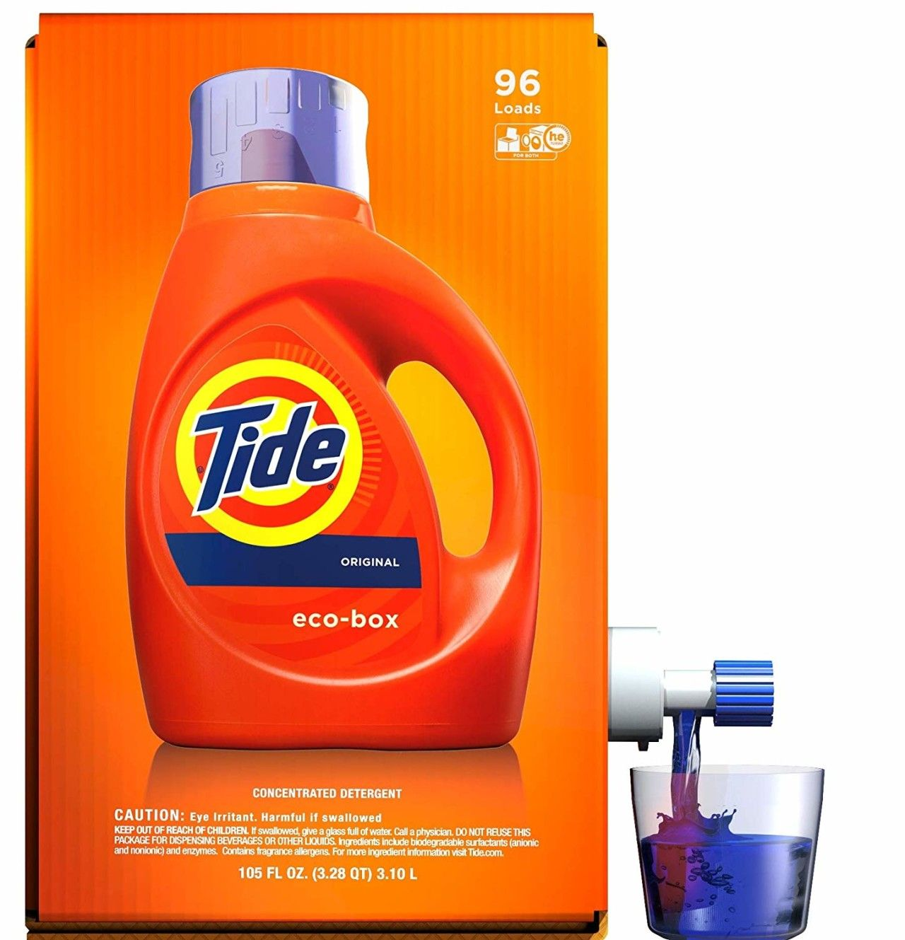Tide Laundry Detergent Liquid Eco Box Concentrated Original Scent 96 Loads As Low As 12 25 Shipped Become A Coupon Queen In 2020 Laundry Liquid Tide Laundry Detergent Laundry Detergent