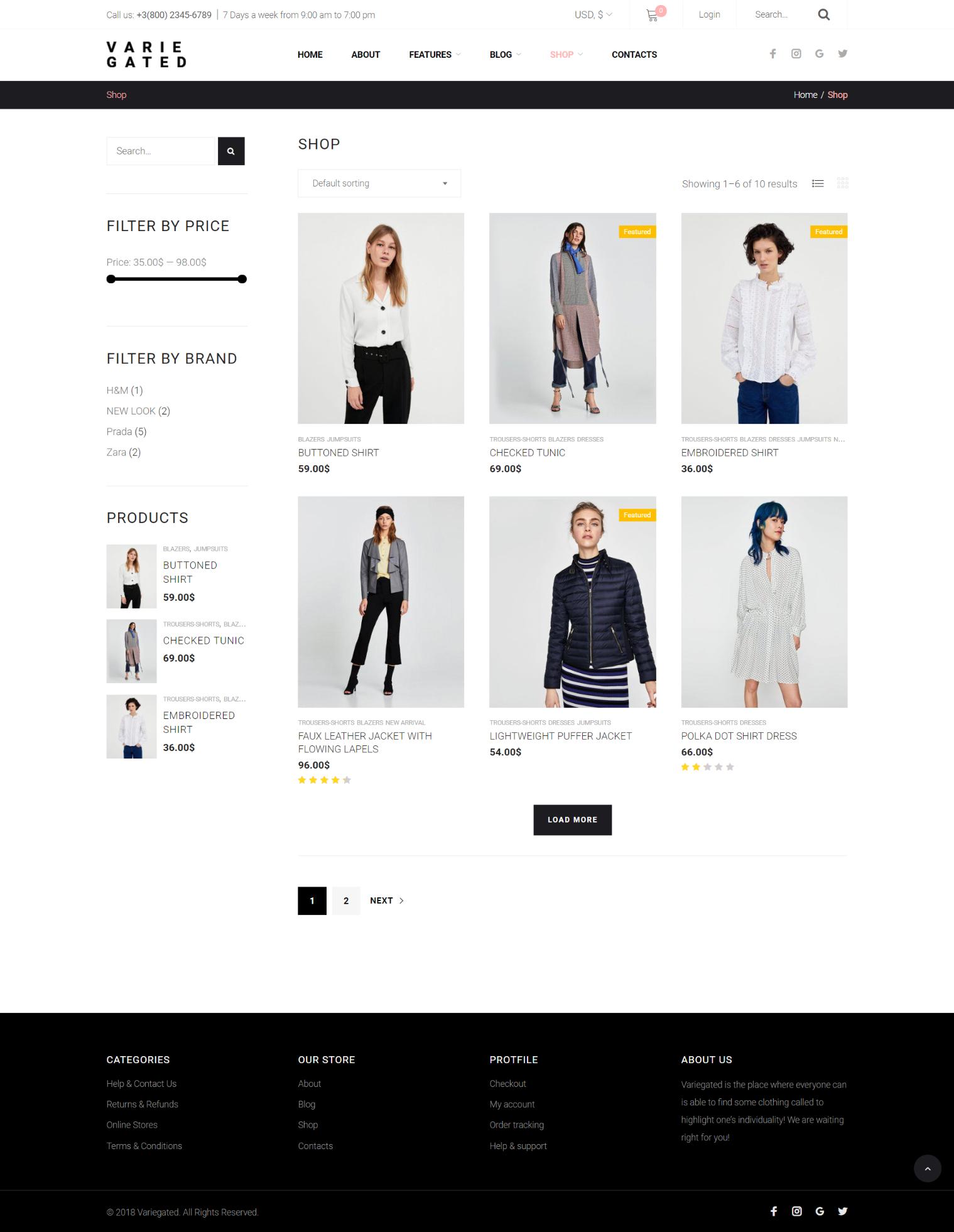 Minimal Clean Wordpress Fashion Theme Fashion And Style Minimal Wordpress Template Wordpress Theme Template Blogging Webdesign Webdes Desain Web Desain