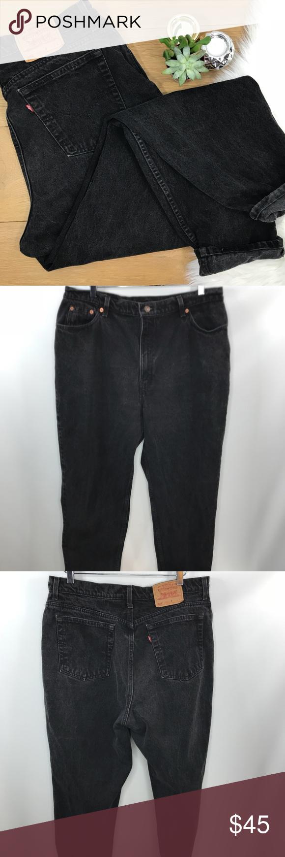 Levi S Black 522 Mom Jeans 460 My Posh Closet Pinterest Black