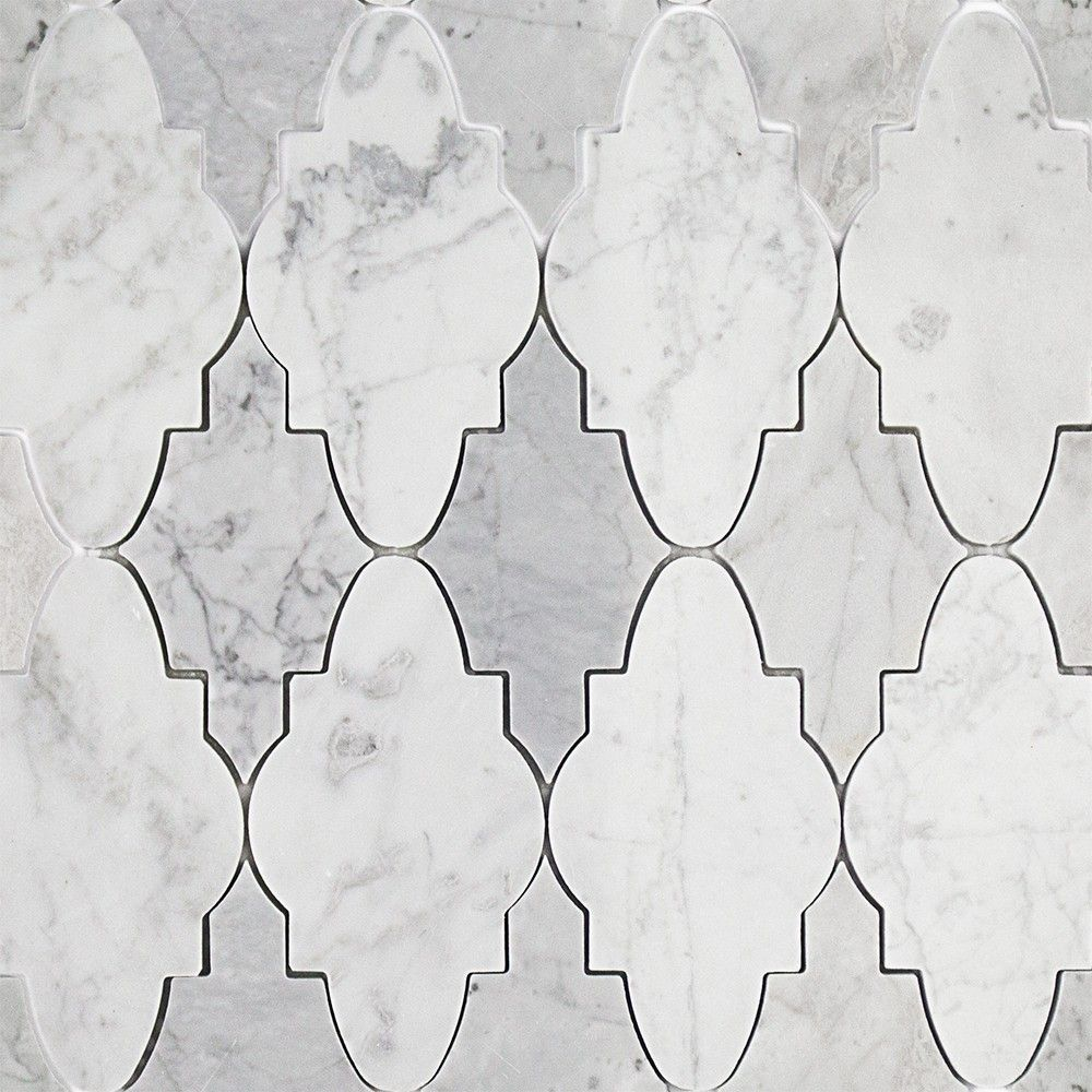 Odeza Arctic Gray Marble Tile