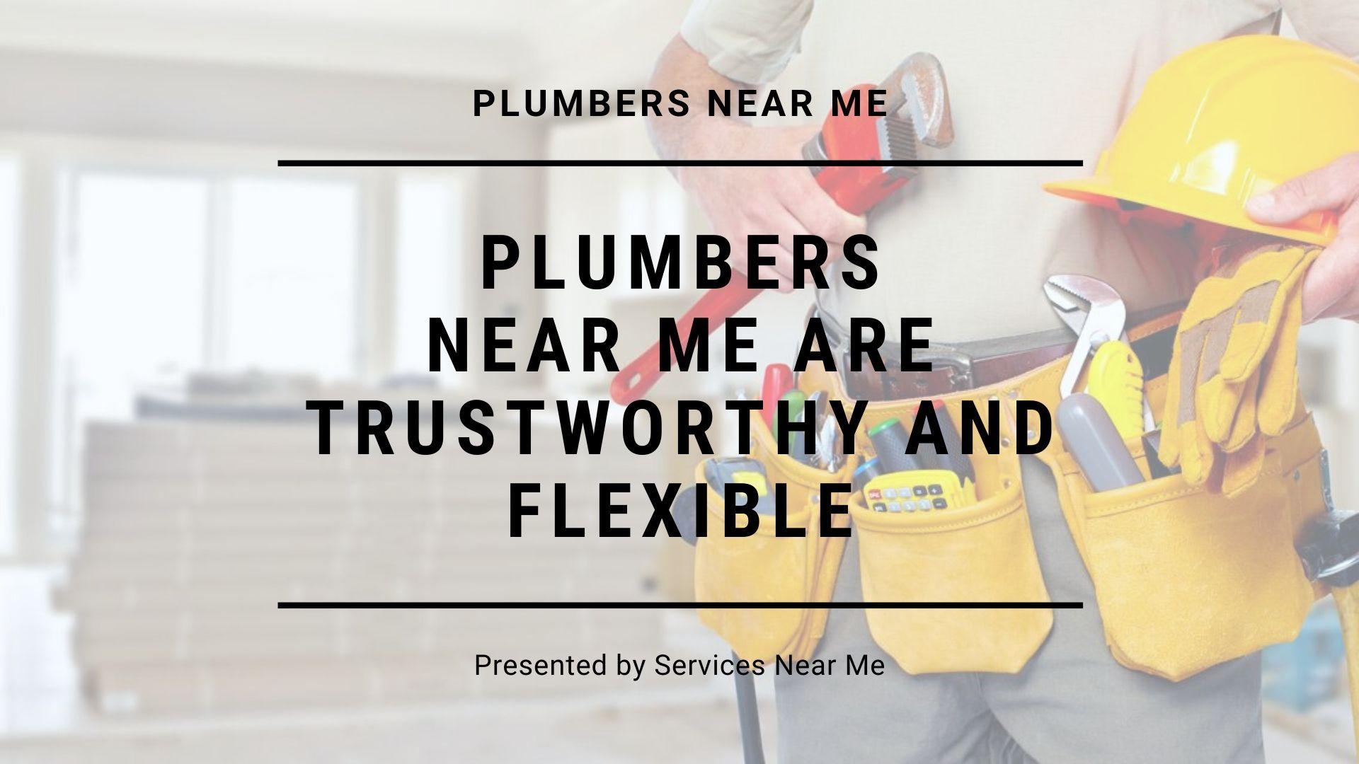 Plumbers Near Me With Free Estimates Plumbers near me