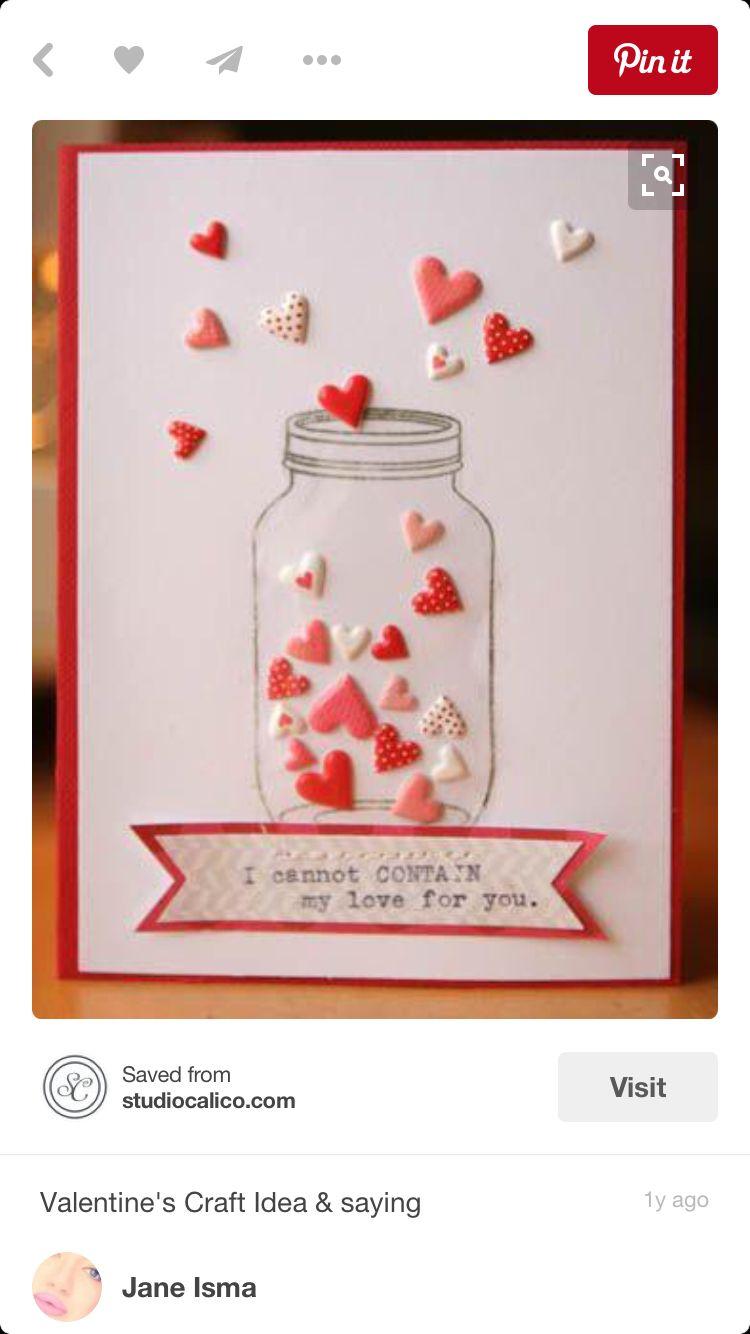 Mini Card Valentine S Day Cards Pinterest Valentines