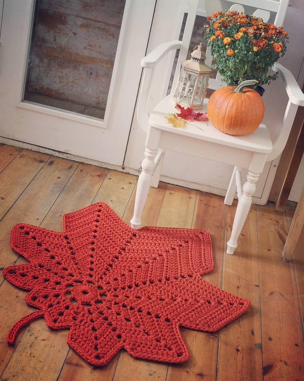 Sugisene Vahtralehe Vaip Yarn T Shirt Yarn Crochet