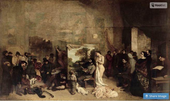 Atelier du peintre de Courbet